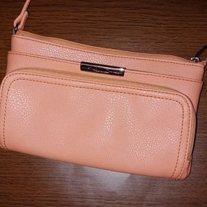 Relic Peach Cross body purse